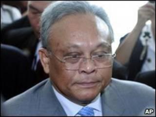 Phó Thủ tướng Suthep Thaugsuba