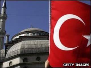 مسجد في تركيا