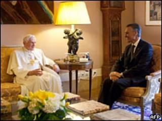 El Papa visita Portugal