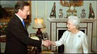 David Cameron dan Ratu Inggris