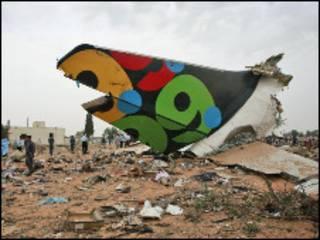 На месте катастрофы самолета Afriqiyah Airlines