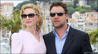 Cate Blanchett và Russell Crowe
