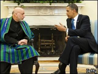 اوباما وكرزاي
