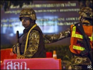 Солдаты таиландской армии