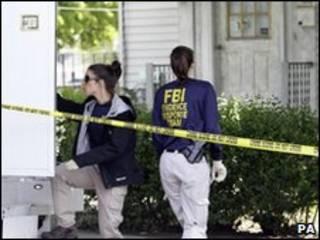 FBI lục soát nhà của một nghi phạm