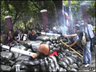 سنگر مخالفان در پایتخت