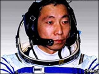 Yang Liwei, comdandante da Shenzhou 5, a primeira missão tripulada da China
