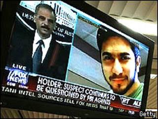 Faisal y aviso en la televisión