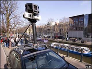 Машина Street View