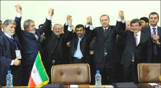 رهبران  سه کشور در تهران