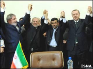 نشست سران ایران، ترکیه و برزیل