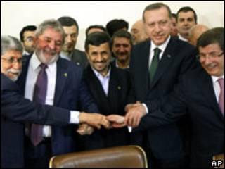 Shugabannin Iran da Turkiya da Brazil sun kulla 'yarjerjeniya