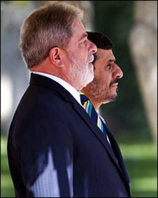 احمدی نژاد و لولا