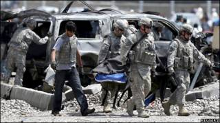 کابلده کی  انتحاری  هجوم