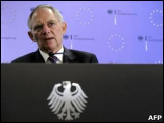 министр финасов Германии Вольфганг Шойбле