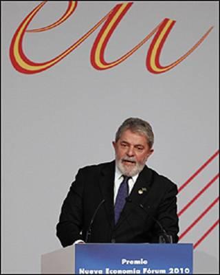 O presidente Lula