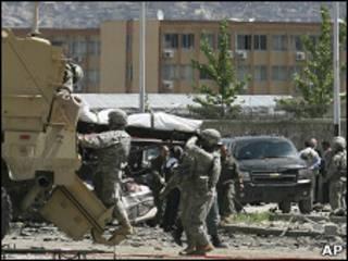 قوات أمريكية في كابول