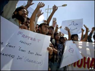 Protestas contra Facebook