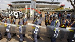 полиция ЮАР
