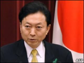 یوکیو هاتویاما، نخست وزیر ژاپن،
