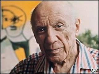 Pablo Picasso tahun 1971