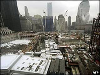 New York'ta saldırıların meydana geldiği nokta