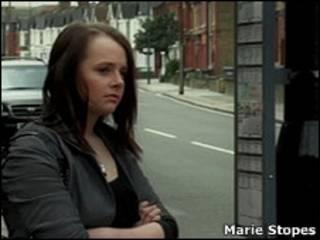Кадр из ролика Marie Stopes