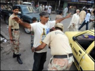 فائل فوٹو، کراچی رینجرز