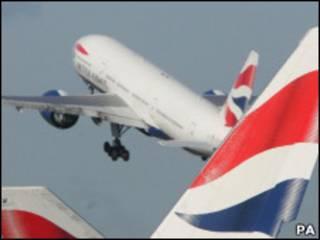 طائرات تابعة للخطوط البريطانية