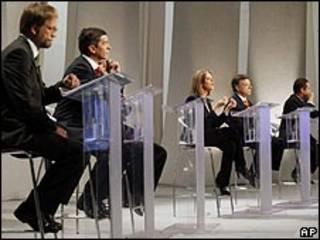 Debate de candidatos presidenciales en Colombia