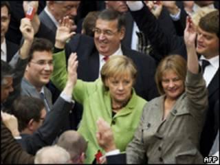 Votación en el parlamento alemán