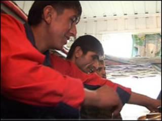 Таджикские иммигранты в России