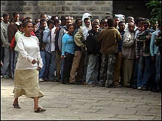 Doorashada ka dhacday Ethiopia May waxaa natiijada diiday mucaaradka