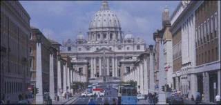 Vista de Ciudad del Vaticano