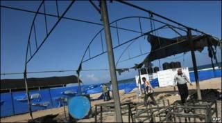 اردوی تابستانی کودکان فلسطینی در نوار غزه