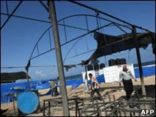 лагерь в Газе