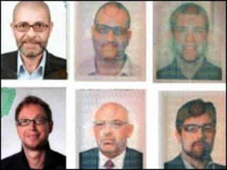 صور بعض المشتبه في ضلوعهم في مقتل المبحوح