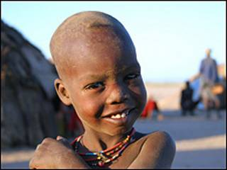 Un niño etíope