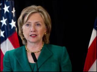وزيرة الخارجية الامريكية هيلاري كلينتون