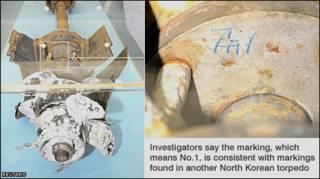 Ngư lôi có đánh dấu giống ngư lôi khác của Bắc Hàn