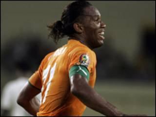 Kyaftin din Ivory Cost Didier Drogba