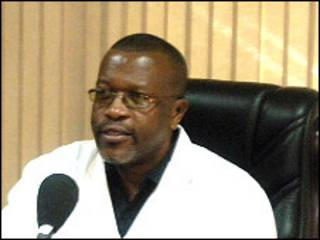 Daktari William Obwaka akihojiwa katika kipindi