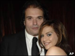 Simon Monjack y Brittany Murphy