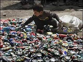یک کودکان افغان در کابل