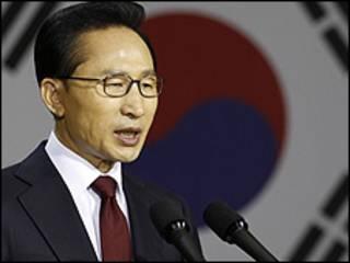 Shugaban Korea ta Kudu Lee Myung-bak