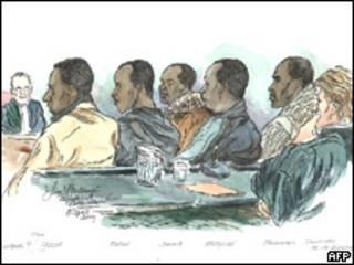 Во время суда над сомалийскими пиратами в Нидерландах