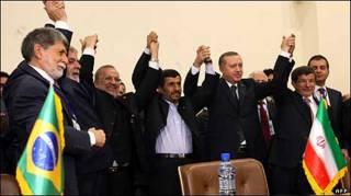 رهبران ایران، ترکیه و برزیل