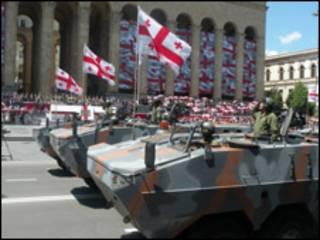 Парад в Тбилиси