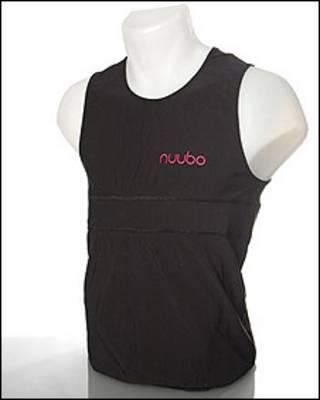 Camisa inteligente (foto: Nuubo)