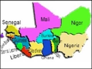 Taswirar kasashen ECOWAS/CEDAO